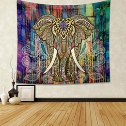 $enCountryForm.capitalKeyWord NZ - 2019 elephant Tapestries hanging cloth digital printing tapestry fresco curtain living room background wall scarf outdoor
