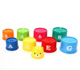 Chinese  block suzakoo Stacked Tower cups Layer Bath toys for children playing manufacturers
