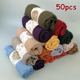 $enCountryForm.capitalKeyWord Australia - J4 Hot sale bubble plain scarf scarves fringes women soft solid hijabs popular muffler shawls big pashmina wrap