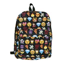Black Emoji Backpack Online Shopping   Black