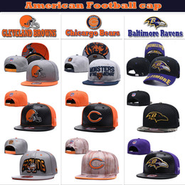 4485d8a50 Mens & women Baltimore # Chicargo # CLEVELAND More color High quality knit  football cap Ravens & Bears & BROWNS American football Hat