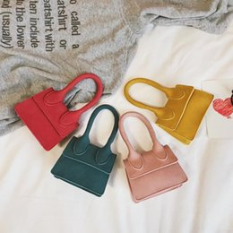 $enCountryForm.capitalKeyWord Australia - Cheap Fashion Korean children 2019 new simple bow small square bag mini shoulder Messenger bag female cute bag