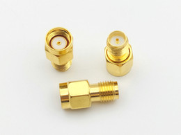$enCountryForm.capitalKeyWord Canada - 100pcs RP-SMA male jack center to RP-SMA female plug in series RF adapter