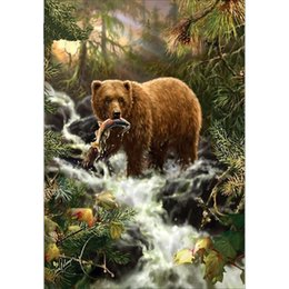 Free Style Paintings Australia - Free shipping Diamond painted bear 25 Styles Fashion DIY Embroidery 5D Diamond Painting Craft Cross Stitch Home Bedroom Decor