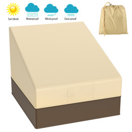 dust garden NZ - Waterproof Outdoor Patio Garden Furniture Covers Snow Rain Chair Covers Sun Protection for Sofa Table Chair Dust Proof Cover