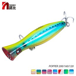 topwater lures NZ - Fishing Lures NOEBY Topwater Popper Bait 200 160 120mm 154 78 43g Sea Fishing Lures Isca Artificial Bait Noise Jerk Baits Pesca Leurre Pe...