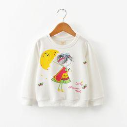 Children White Tees Australia - good quality 2019 new t shirt cartoon kids tops girls t-shirt long sleeve clothing casual baby girl tees children cotton clothes