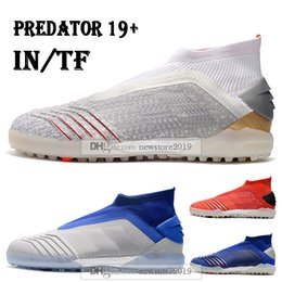 $enCountryForm.capitalKeyWord Australia - Mens High Tops Football Boots Archetic Predator Tango 19 IN TF Soccer Cleats ZIDANE BECKHAM Predator 19 Indoor Turf Soccer Shoes