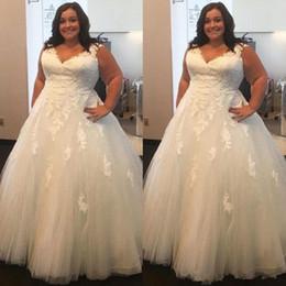 $enCountryForm.capitalKeyWord Australia - Sexy V Neck Plus size Wedding Dresses With Pockets Elegant Ivory Stain Pregnant Bridal Dress Custom A Line Wedding Gowns