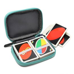 card games uno wholesale Canada - YSAGi travels Cases, Covers & Bags Game Accessories with UNO case card games soft cloth waterproof and scratch protection for UNO cards for