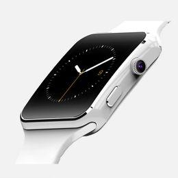 $enCountryForm.capitalKeyWord NZ - New X6 Curved Smart Watch Smart Card Internet Bluetooth Camera Phone Watch Smartband with multifunction dhl free