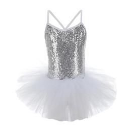 Bright Clothes UK - diamond skirt Gymnastics clothes girls sling bright body suit ballet gymnastics dance high quality training clothes girls