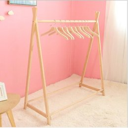 Displays for clothes online shopping - Landing coat hanger Children s room decoration Clothes hangers in children s clothing stores Photographic props for Costume Display