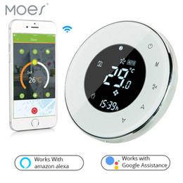 $enCountryForm.capitalKeyWord Australia - Smart Wifi Thermostat Water floor Heating, Remote Control BHT-6000-GALWW Work with Alexa Google Home
