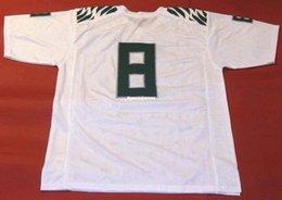521b7e7b5f33 Cheap retro MARCUS MARIOTA CUSTOM JERSEY NNOB HEISMAN white Mens Stitching  College Size S-5XL Football jerseys NCAA