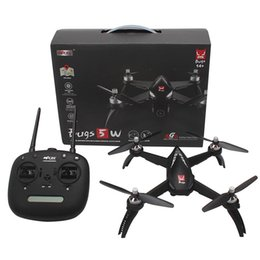 Gps Hd Australia - MJX Bugs RC 5W Brushless Motor 1080P HD Camera RC Drone With Adjustment Camera WIFI FPV GPS Auto Return RC Quadcopter Helicopter VB