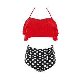 54f872a8c9f 2018 New Sexy Women Swimwear Female Swimsuit High Waist Push Up Bathing  Suits Print Plus Size Shoulder Strap