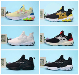 Panda flats online shopping - 2019 Breathable React Presto mens running shoes Psychedelic Lava Dharma Witness Protection Rabid Panda Designer Sneakers Size