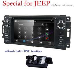 $enCountryForm.capitalKeyWord Australia - Hizpo Car Stereo GPS DVD Player for Dodge Ram Challenger Jeep Wrangler JK Head Unit Single Din 6.2''Touch Screen Indash Radio BT