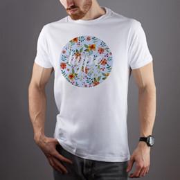 $enCountryForm.capitalKeyWord Australia - Hype T-Shirt Printed Floral Hipster Tee Shirt Unique Short Sleeve Unisex T-Shirt Classic Quality High t-shirt