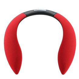 $enCountryForm.capitalKeyWord Australia - Wireless Portable Mini Bluetooth Speakers Neck-mounted Speaker Wearable Wearing Neckband Hanging Creative Sports Audio DHL Best