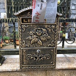 Discount Metal Mail Boxes Metal Mail Boxes 2019 On Sale At Dhgate Com