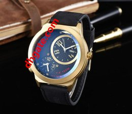 Brand Luxury Style Watch Australia - New style high quality cosc French famous Luxury brand Men's style quartz watch model Men's clothing gold leather watch Two machine work