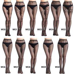 e8f6cf05a Hot Selling Women s Long Sexy Fishnet Stockings Fish Net Pantyhose Mesh  Stockings Lingerie Skin Thigh High Stocking