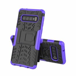 Heavy duty tpu pc case online shopping - FOR Samsung Galaxy S10 S10E S10 PLUS J6 PLUS J4 PLUS A6S A8S Hybrid KickStand Impact Rugged Heavy Duty TPU PC CASE Cover
