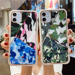 Wholesale cover iphone army for sale - Group buy Camouflage Pattern Camo military Army Black Soft Shell Phone Cover for Apple iPhone S Plus X XS MAX S SE XR