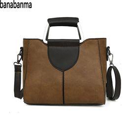 $enCountryForm.capitalKeyWord Australia - banabanma Women Handbags Girl Single-shoulder Bag PU Leather Fashionable Stylish Zipper Single-shoulder Travel Casual Bag ZK40