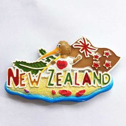 Wholesale Lychee Life New Zealand Fridge Magnets Bird Design Refrigerator Magnetic Sticker Home Decoration Travel Souvenirs