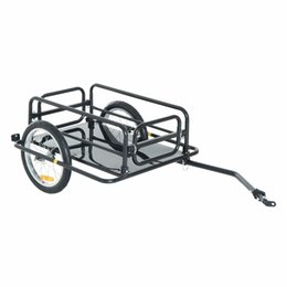 Wholesale Bicycle Bike Cargo Trailer Utility Luggage Cart Carrier Black