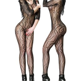 Sock Packs Australia - Sexy Siamese Sexy Open Mesh Clothing Fashion Explosions Pack Hip Hip Jacquard Sexy Underwear Tights One Size Fits All