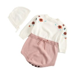 $enCountryForm.capitalKeyWord Australia - New 2019 Fashion Baby Rompers Baby Boy Clothes Sleeveless Newborn Knitted Romper Baby Girl Clothing Jumpsuit Infant Clothing J190525