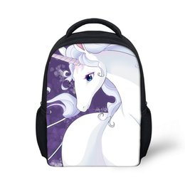 3d18f8d417 3D Newest Custom Cute Anime Unicorn Horse Printing Youngster Pencil  Backpacks Daily Bags For Girls Boys Children School knapsack