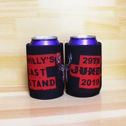 $enCountryForm.capitalKeyWord Australia - 300pcs lot Custom Beer Holders Print Your Logo Stubby Holders Australia Thermos Insulated Bag Neoprene Can Coolers Ice Packs