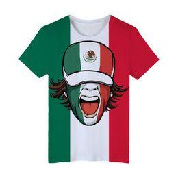 ed8303fbd Mexico National Flag 3d T Shirt Men women Fashion High Quality 3d Print  Mexican Flag Men's Short Sleeve T Shirt Clothes