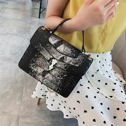 $enCountryForm.capitalKeyWord NZ - New style fashionable high quality handbag individual snake head single shoulder bag cross-body bag