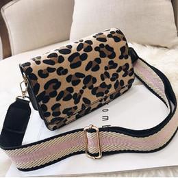 Hand Bags Leopard Prints Australia - Leopard Print Small Flap Bags For Women 2019 Winter Crossbody Bags Lady Shoulder Hand Bag Handbags Fashion Retro Sexy