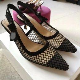 Gladiator Shoes Size 12 Australia - High heels Sexy Women High-heeled Shoes Black Mesh Pointed Toe Pumps 12 Colors Ladies Summer Gladiator Sandals size 35-40 with box DR8