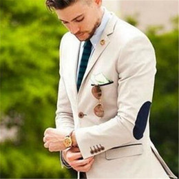 green spandex pants men Canada - Best Man Suits 2pieces (Jacket+Pants+Tie) New Custom Homme Mens Suits Groom Tuxedos Groomsmen Wedding Party Dinner Fashion