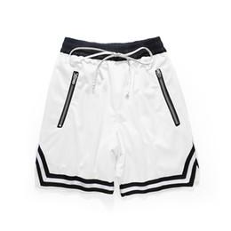 $enCountryForm.capitalKeyWord UK - Basketball Short Pants Zipper Pocket Men White Casual Streetwear Gym Workout Fitness Running Fashion Trendy Clothing Shorts