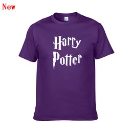 $enCountryForm.capitalKeyWord Australia - Hot Sale men t shirt harry potter hogwarts print shirts unique design harry potter costume cool magic school hogwarts t-shirt ZG4