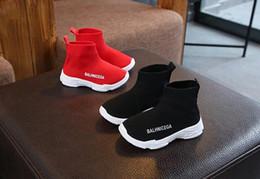 fa461d99c5f Botas de niño online-Calientes botas para niños Niños Zapatillas deportivas  Parte inferior de goma
