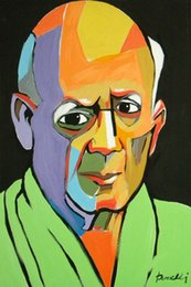$enCountryForm.capitalKeyWord Australia - Pablo Picasso Abstract Art Portrait Of A Man,Oil Painting Reproduction High Quality Giclee Print on Canvas Modern Home Art Decor