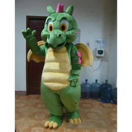 $enCountryForm.capitalKeyWord Australia - 2019 Hot new Adult cartoon character cute green dragon Mascot Costume Halloween party costumes