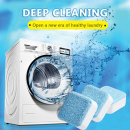 Wholesale 12 Tab 24 Tab washing machine cleaner laundry expert deep cleaning Detergent remover Effervescent Tablet Washer Cleaner