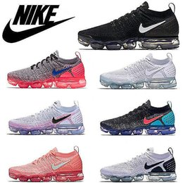 Men Women Sneakers VaporMaxx 2.0 Rainbow Running Shoes for Mens trainers Walking Casual shoes WMNS Athletic VaporMx Sneakers size 36-45 on Sale