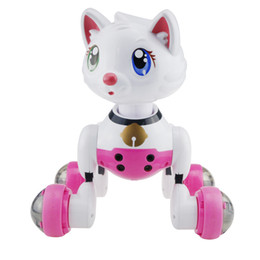 Battery Operated Ride Australia - Intelligent remote control robot dog Electric toy children voice-controlled interactive electronic pet toys